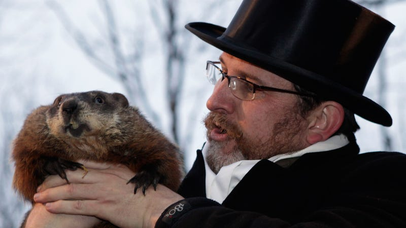 Groundhog King Punxsutawney Phil Predicts Early Spring