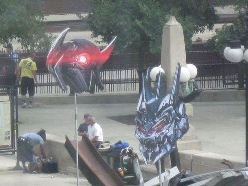 Transformers 3 Set Photos Gallery