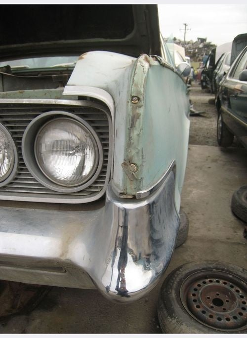 1965 Chrysler Town And Country Wagon Down On The Junkyard