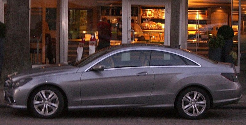 2010 Mercedes E-Class Coupe Spotted In Profile