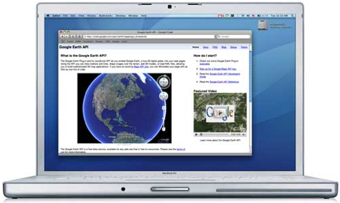 Google Earth Plug-in Puts Google Earth in Your Mac Browser