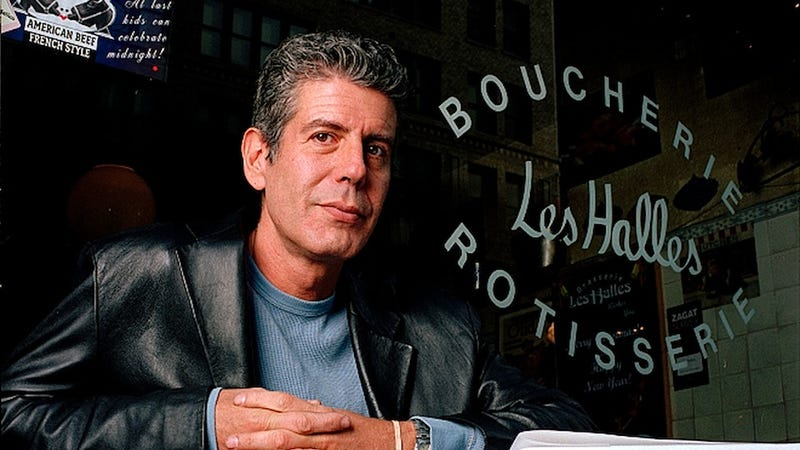 The Time That Anthony Bourdain Wrote a Sex Column for Cosmo