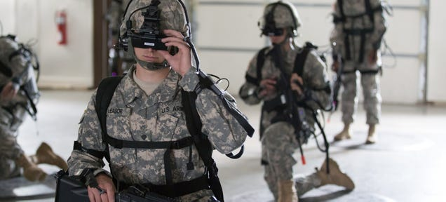 Soldiers on (Virtual) Patrol