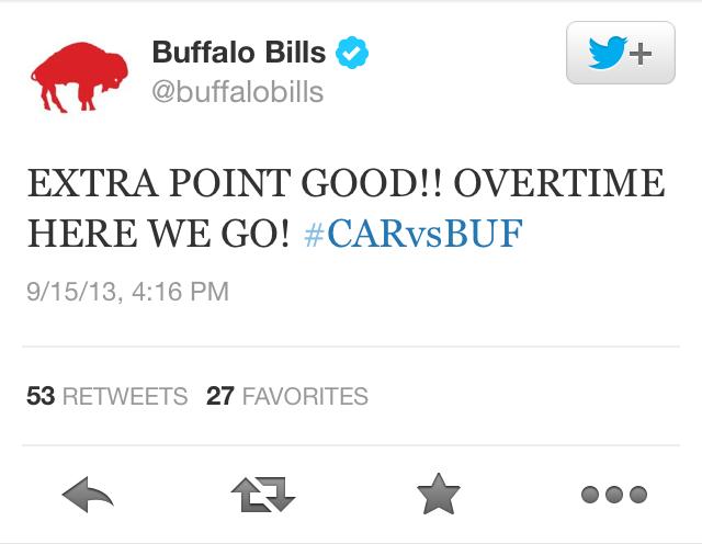 Emotional E.J. Manuel Leads A Game-Winning Drive In Buffalo