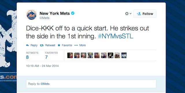 Oh No, Mets