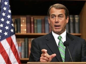 John Boehner Champions a Woman's Right to Pee