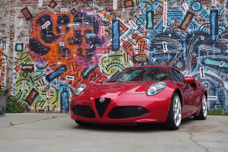 The U.S.-Spec Alfa Romeo 4C Is 342 Pounds Heavier