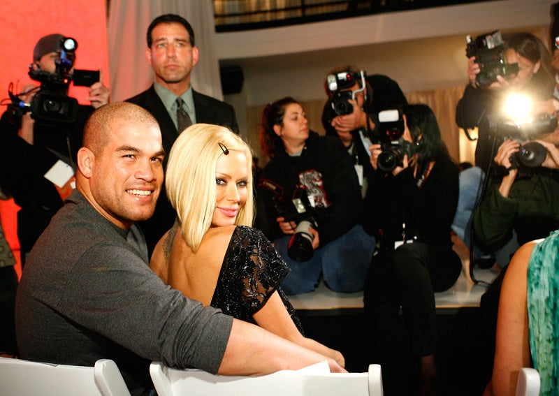 Jenna Jameson's Ultimate Fighting Boyfriend Arrested for Beating Her Up