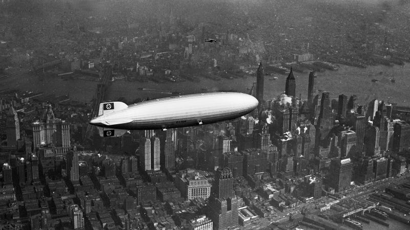 31 Photos From the Golden Age of Airships, When Zeppelins Ruled the Sky