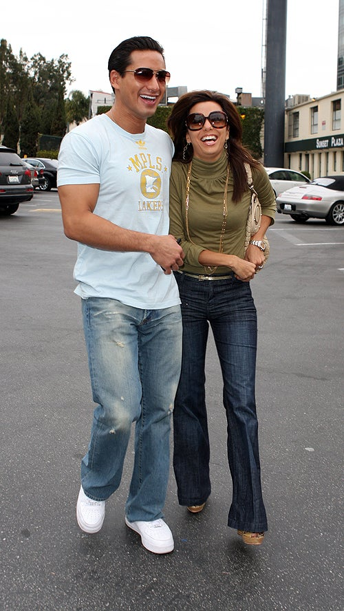 Mario Lopez & Eva Longoria: Hahaha We're So Awesome