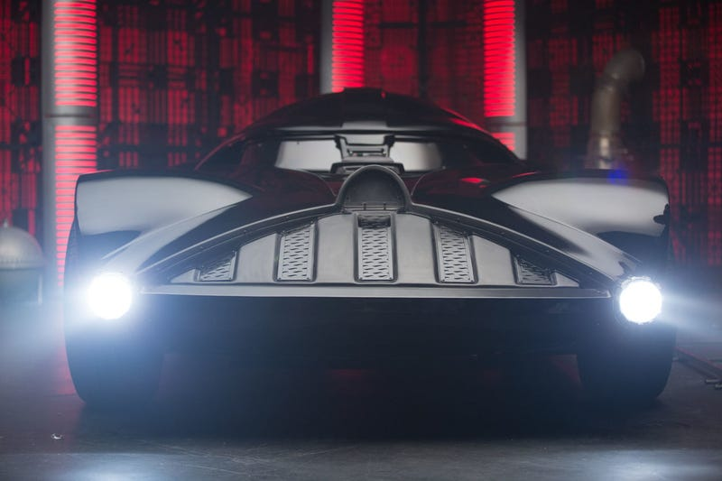 This 526 HP Darth Vader Corvette Is A Hot Wheels Dream Made Real
