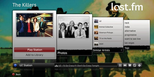 More Details on the Xbox 360's Last.fm Implementation