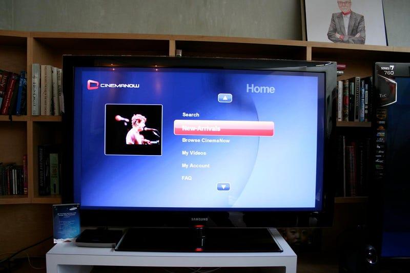 Samsung MediaLive Streams Windows Media to Televisions