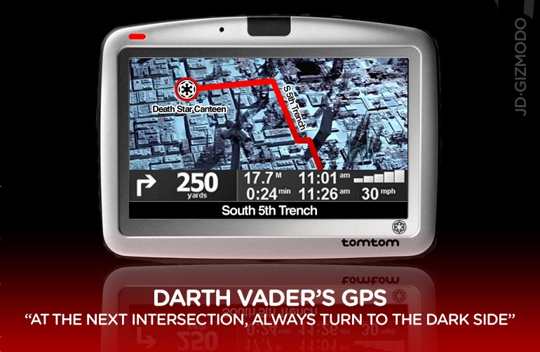 Darth Vader Drives You Through the Dark Side of the Road