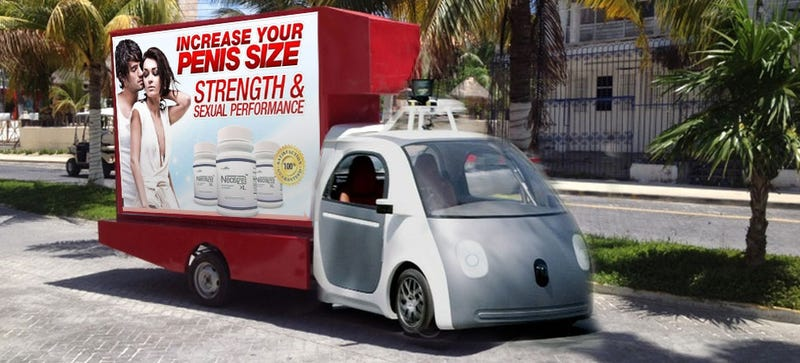 Will Autonomous Vehicles Breed 'Spam Cars'?