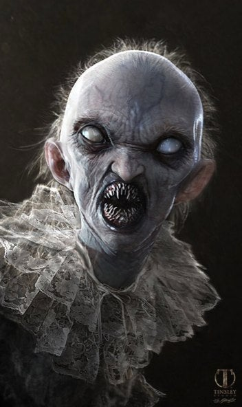 American Horror Story concept art shows off the hideous Frankenbaby!