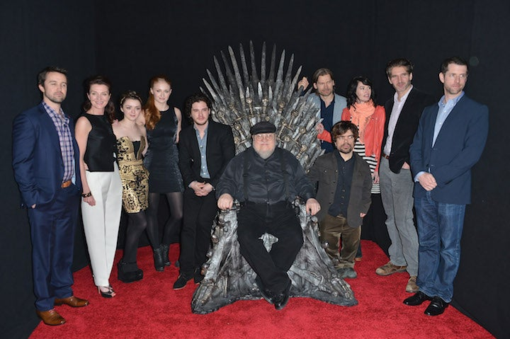 George R.R. Martin Distances Himself From Game of Thrones Rape Scene