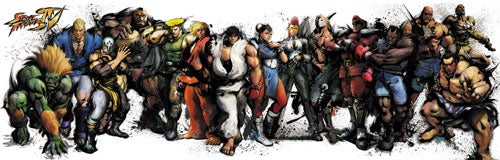 Which Street Fighter IV Figurines Do You Want?