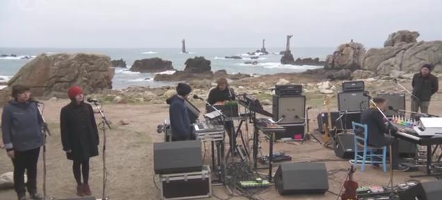 Watch Yann Tiersen Perform A Concert on France's Foggy, Rocky Shore