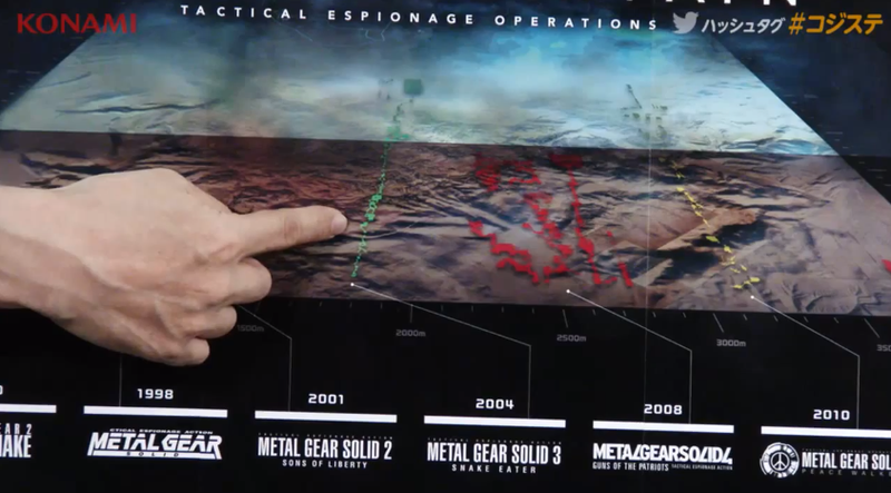 Hideo Kojima Says Metal Gear Solid V Is This Big