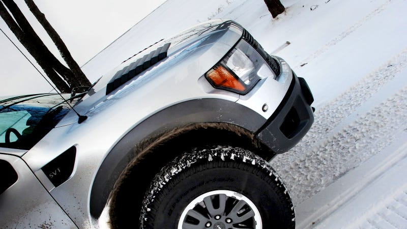 2011 Ford F-150 SVT Raptor SuperCrew: Photos