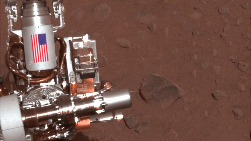 Debris from the World Trade Center Is Exploring Mars