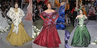 Past Tense Perfect: Floating Through History With Dior Couture