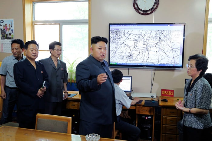 Kim Jong-un, the World's Best and Dearest Weatherman