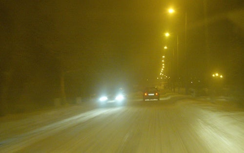 Hungarian Snow Drifting: Screaming Sideways Into the Freeze