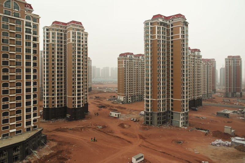 China's brand-new abandoned cities could be dystopian movie sets