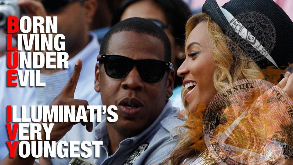 Jay Z Illuminati Symbol Jay-z and beyonc�'s daughter