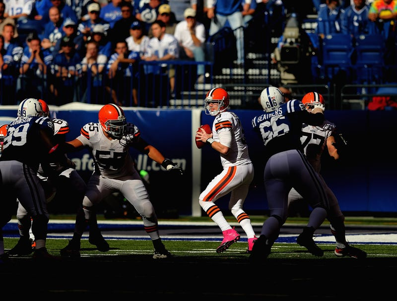It Sucks To Be Brandon Weeden, Vol. 5: The Browns Are Already Publicly Wondering Whether Brandon Weeden Is Any Good