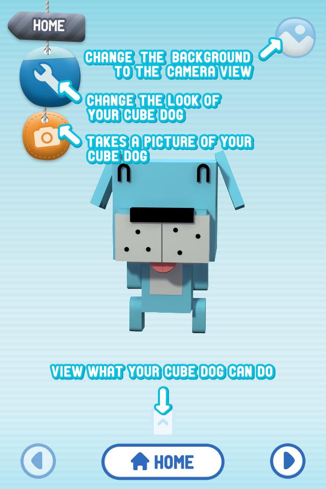 Cube Dog App Gallery