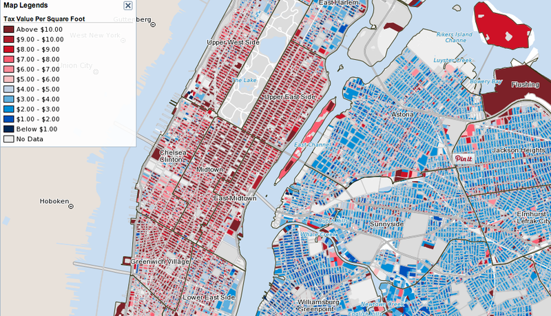 Use This Map to See If You're Paying Too Much in Property Taxes
