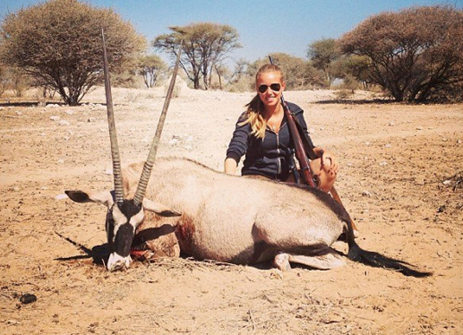 Teen World Cup Fan's Hunting Photo May Have Killed Her Modeling Career