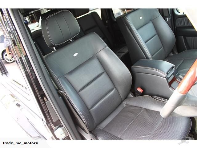Spotted on Trade Me: 2012 Mercedes-Benz G55 AMG