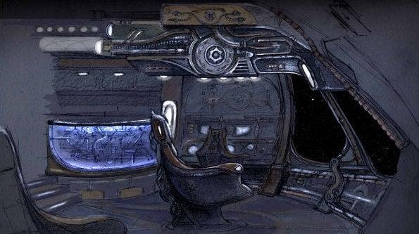 Stargate Universe Concept Art Takes You Inside The Starship Destiny