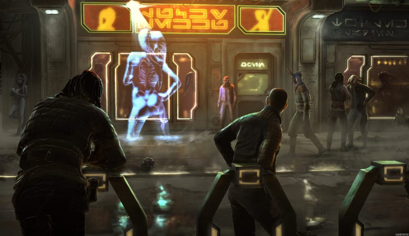 New concept art shows the sleazy Taxi Driver underbelly of Star Wars