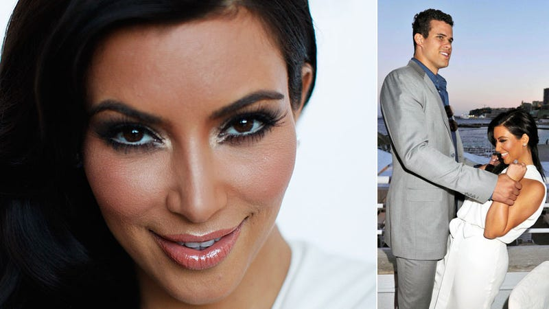 Kim Kardashian and Giant Fiance to Have Normal-Sized Baby
