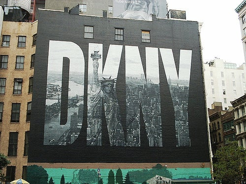 The Disappearing DKNY Mural