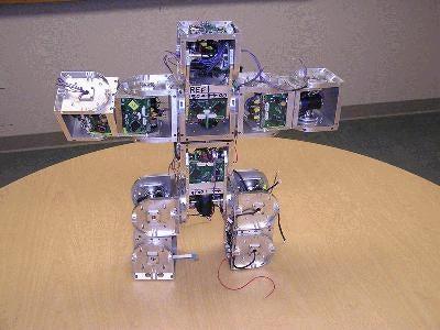 SuperBot Robot Can Construct Itself