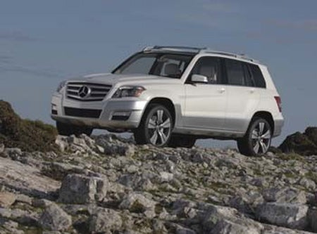 Detroit Auto Show: First Mercedes GLK Freeside Concept Official Image