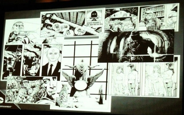 Here's the first interior artwork from Before Watchmen
