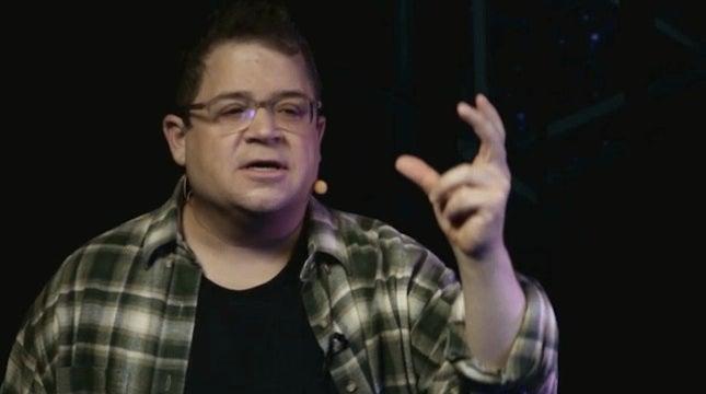 Patton Oswalt's TED Talk is true genius