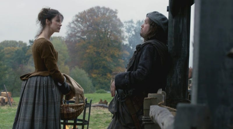 On This Week's Outlander, Claire Finds Friends and Enemies at Castle Leoch