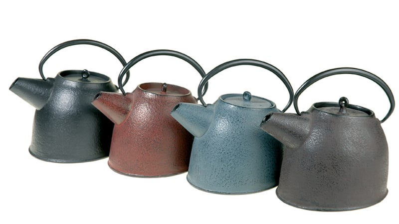 You Want a Cast Iron Teapot on a Freezing Day Like Today