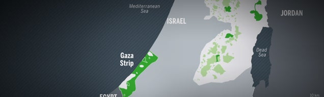 All you need to know about Gaza in one clear animated map