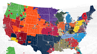 The NFL Fandom Map Of America, According To Twitter