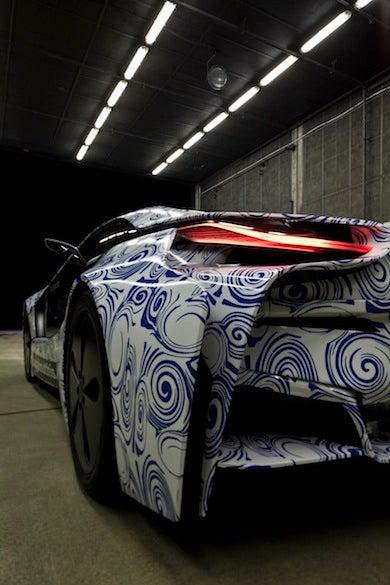 BMW Vision Sportscar: A Plug-In Hybrid Bird Of Prey