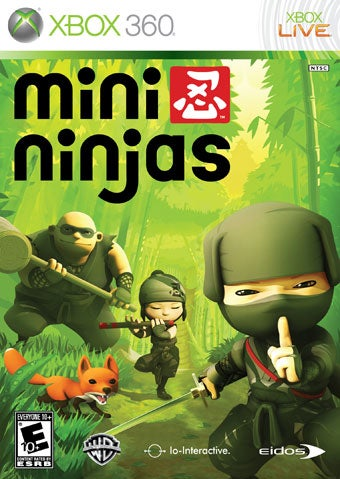Mini Ninjas Sneak Up On September Release